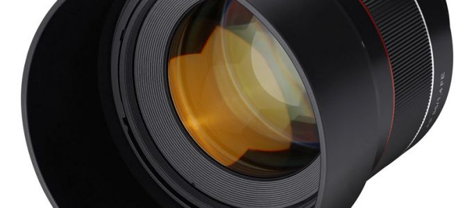 SAMYANG Announces the New AF 85mm F1.4 FE Prime Lens 'Delivering Sharpness with Beautiful Bokeh'