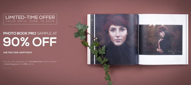 nPhoto celebrates new website with 90% off sample Photo Book Pro and sample Complete Photo Book Set special offer
