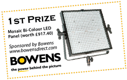 Bowens Confirm Sponsorship of The Societies' 2014 20×16″ Print Competition