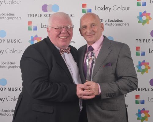 Phil Jones The Societies' CEO with Peter Ellis