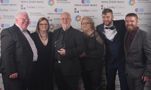 Phil Jones, Terrie Jones, Colin and Ben Jones from The Societies' with Damian and Lesley McGillicuddy.