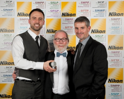 Mike McNamee, Professional Imagemaker Editor with Pete Denness and Paul Bucknall