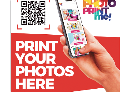 Keeping the High Street Exciting with PhotoPrintMe! Just Scan the QR code!