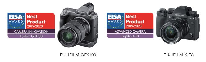 Fujifilm's mirrorless digital cameras win the EISA Awards