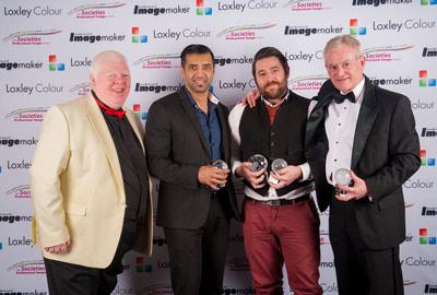 Gurvir Johal, Alistair Campbell (Overall  Portrait Winner) and Martin Leckie