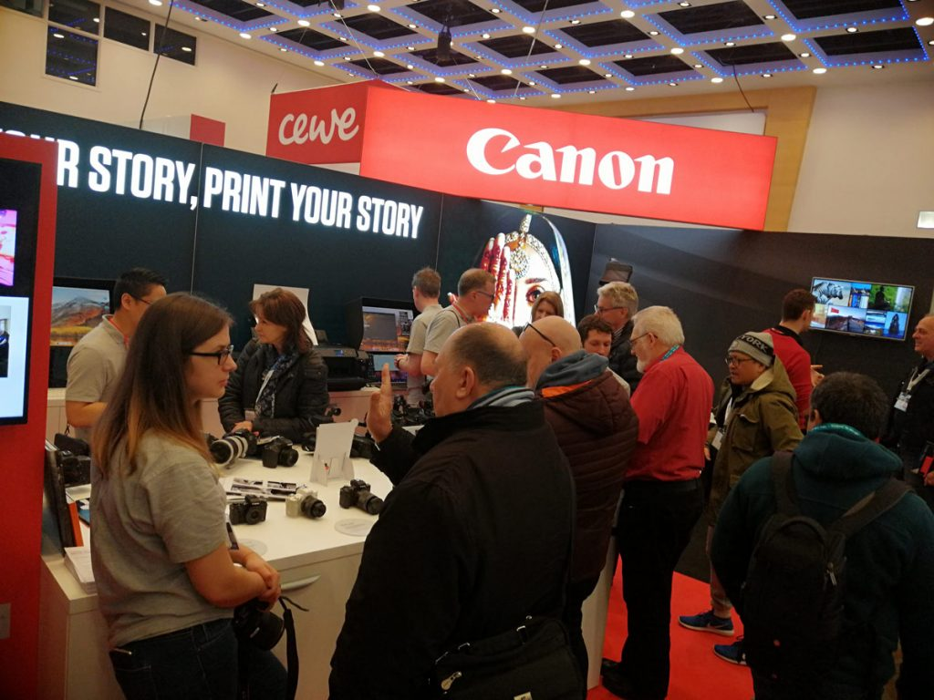 Canon at the London Photo Convention