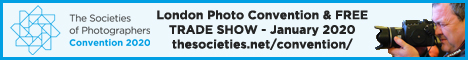 London Photo Convention & FREE TRADE SHOW - January 2020 thesocieties.net/convention/