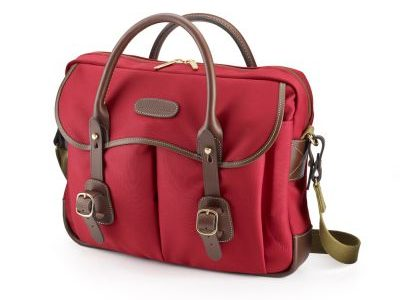 Billingham introduces Thomas briefcase/laptop case in burgundy
