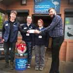 The Society of International Nature and Wildlife Photographers raises £2,850 for the RSPB