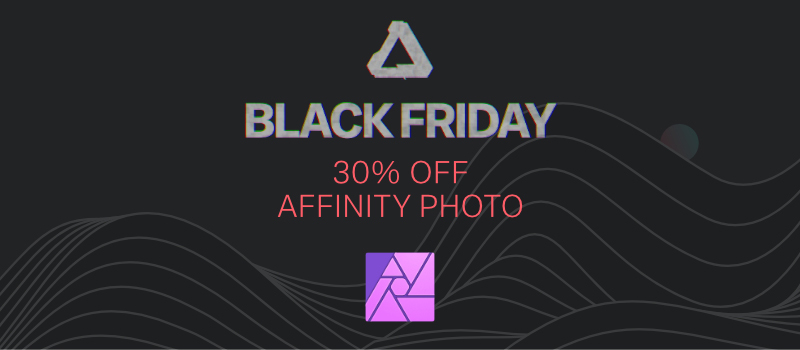 30% off affinity photo