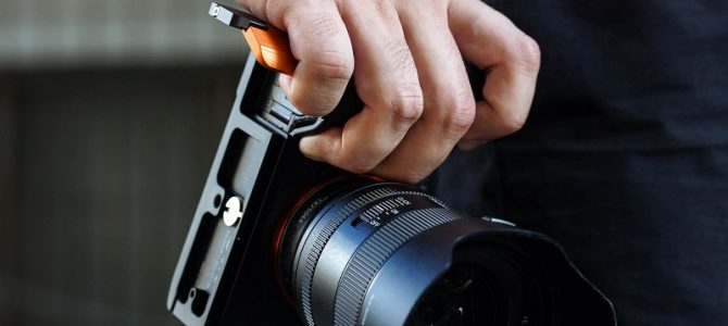 STC Folding Grip [Fogrip] for Sony Full Frame Mirrorless Cameras Announced