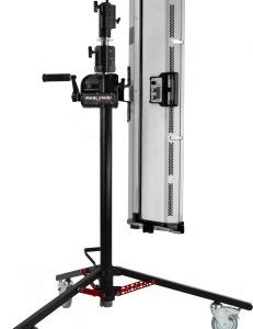 Matthews Panel Stand Cranks up Lights, Monitors, & More