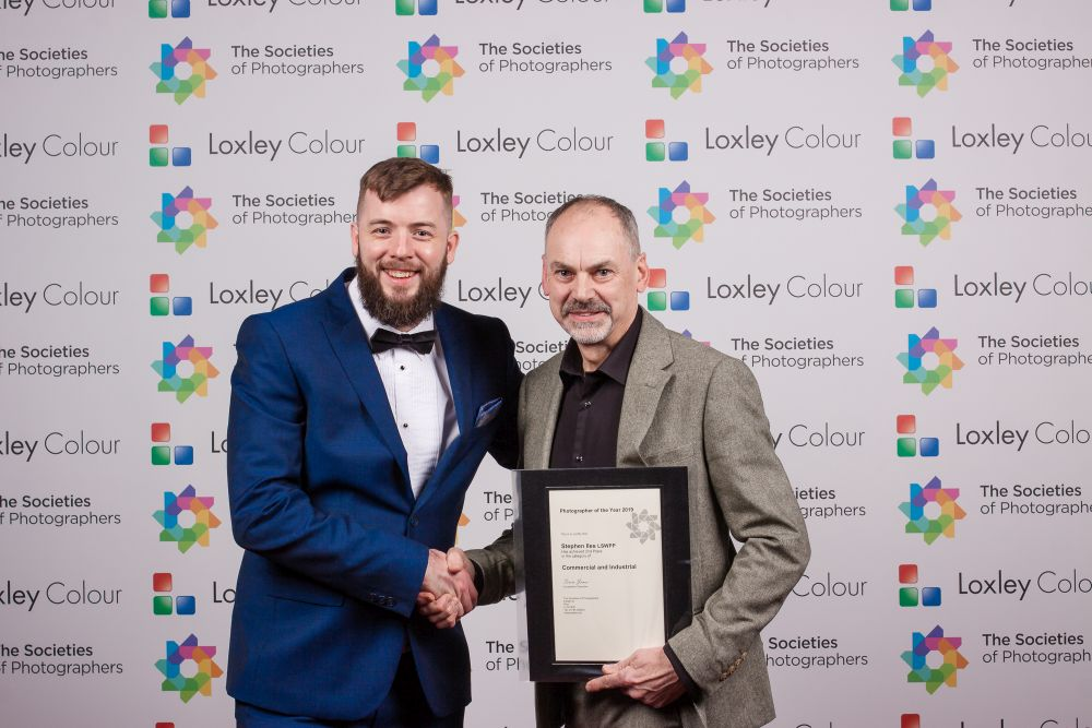 2nd Place Commercial and Industrial Photographer of the Year 2019 certificate.