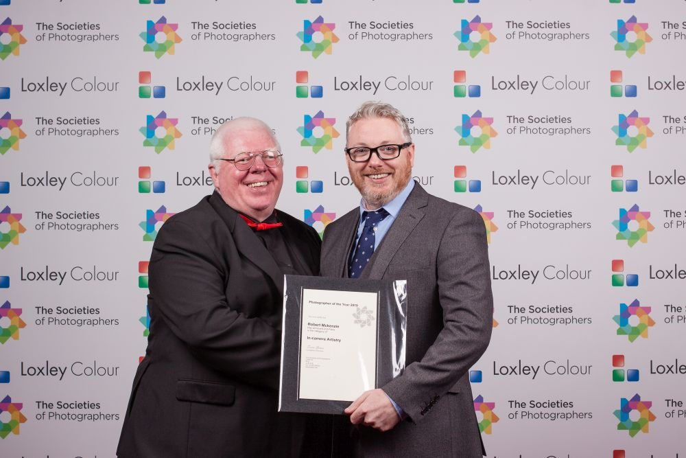 2nd place In-camera Artistry Photographer of the Year 2019 certificate