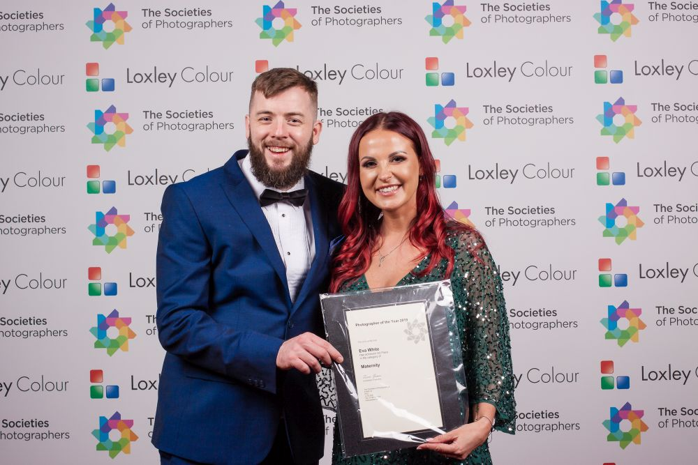 3rd Place Maternity Photographer of the Year 2019 certificate.