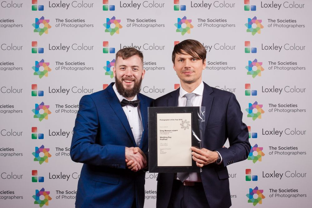 3rd Place Wedding Day – Pre-Post Photographer of the Year 2019 certificate.