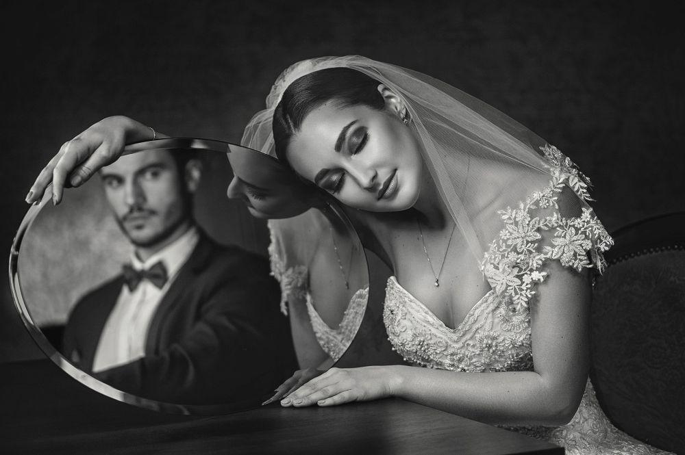 "20 x 16"" Portrait Wedding Fashion 2020 2nd Place: Greg Moment"