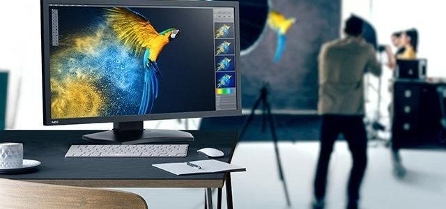 "NEC delivers stunning colour accuracy with new 31"" 4K desktop display"