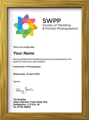 Qualified Photographer Certificate