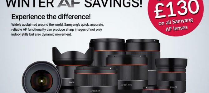 Samyang AF Instant Savings