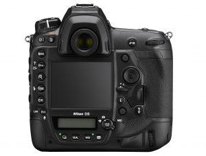 The Nikon D6 rear.