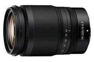 NIKKOR Z 24–200mm f/4–6.3 VR
