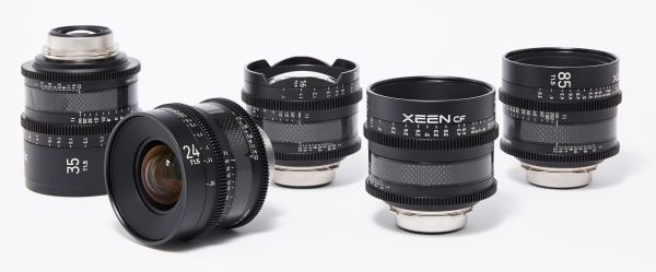 XEEN CF Cine Prime Lens Lineup Completed with Addition of 2 New Focal Lengths