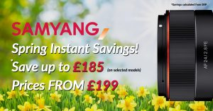 Samyang Spring Instant Savings