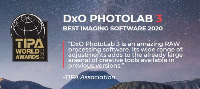 30% off all DxO software until 26th April