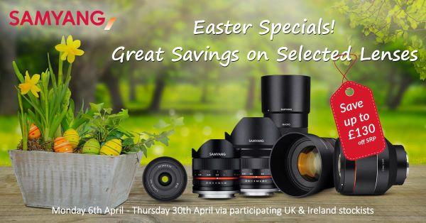 Samyang Announces 'Easter Instant Savings' Promotion