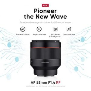 AF 85mm F1.4 RF