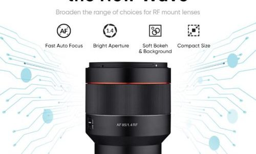 Samyang Expands its RF Series Lineup, Introduces New AF 85mm F1.4 RF
