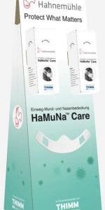 Hahnemühle launches 'HaMuNa® Care' – urgently needed mouth and nose protection