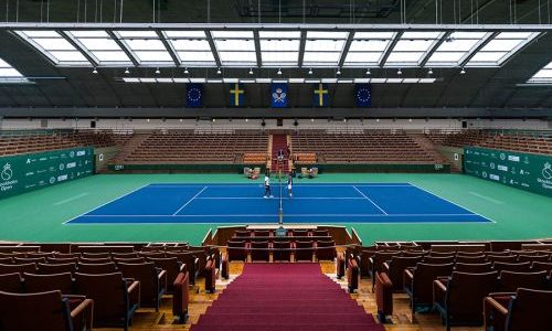 Hasselblad partners with björn ceder & stockholm open To artistically document tennis against corona fundraiser match