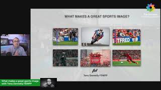 What makes a great sports image with Terry Donnelly FSWPP