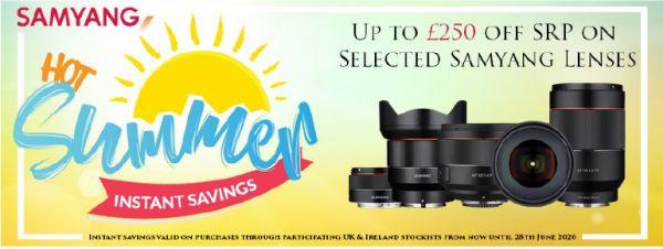 Samyang UK Announces Summer Savings Promotion