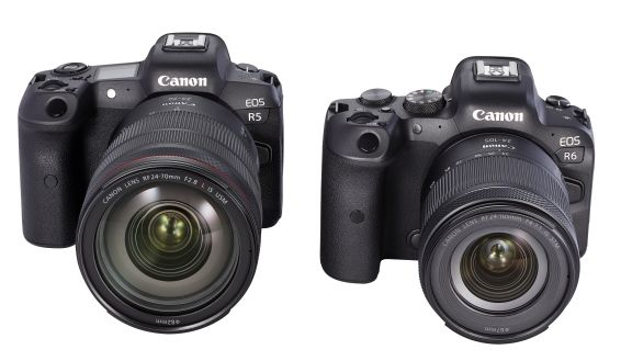 EOS R5 and EOS R6