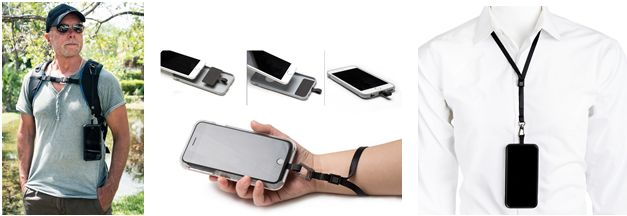 Secure mobile phone tether system for active lifestyles launched by BLACKRAPID