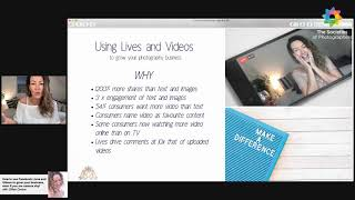 How to use Facebook Lives and Videos to grow your business, even if you are camera shy!