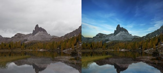 Don't Let Grey Sky Stop You Shooting the Landscape