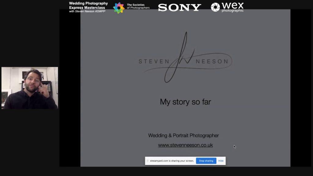 Wedding Photography Express Masterclass with Steven Neeson ASWPP