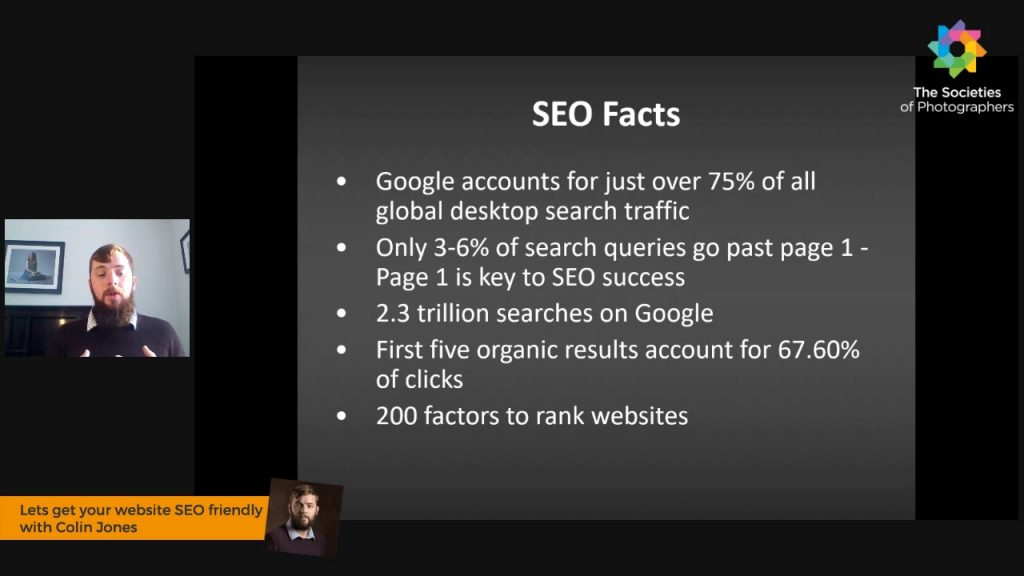 Lets get your website SEO friendly with Colin Jones