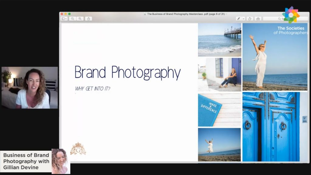 Business of Brand Photography with Gillian Devine - Brand Photography Expert