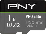 PNY Launches New 1TB PRO Elite microSDXC Flash Memory Card
