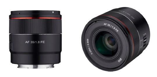 Samyang Boosts 'Tiny Series' Lens Line-up with Introduction of AF 35mm F1.8 FE for Sony E full-frame Mirrorless Cameras