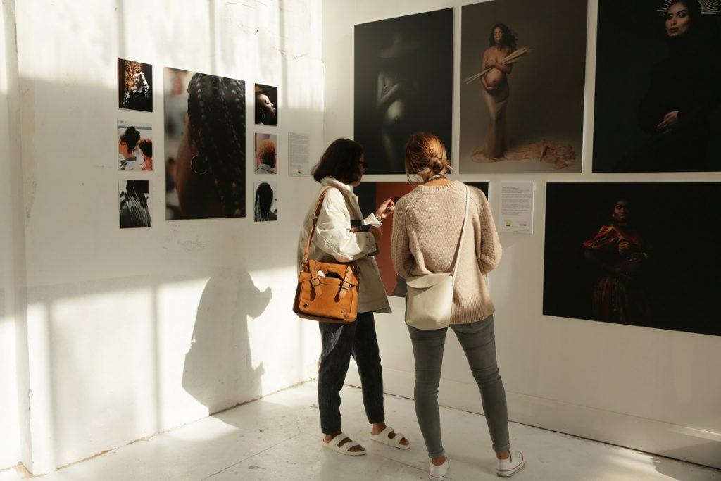 ukbftog we are here day three by Lensi Photography guests taking in Tianna J Williams exhibit