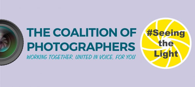 Announcement On Behalf of The Coalition of Photographers Group