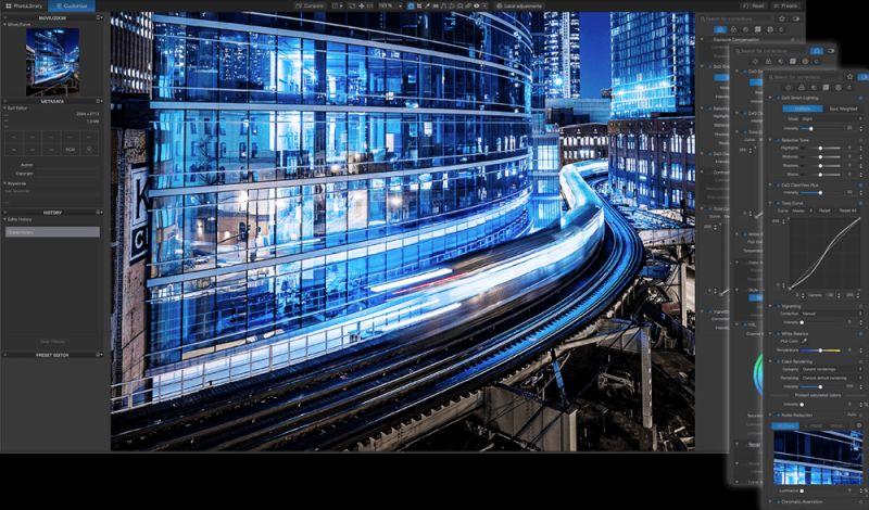DxO Smart Workspace