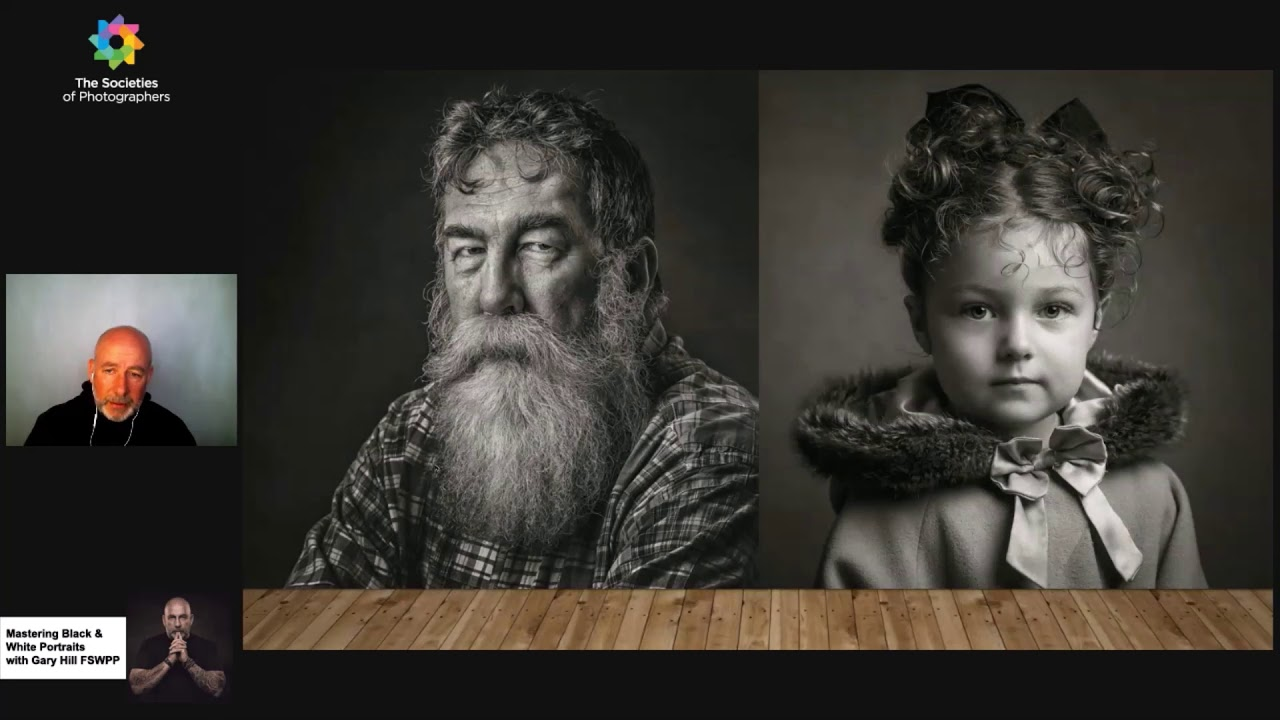 Mastering Black and White Portraits with Gary Hill FSWPP