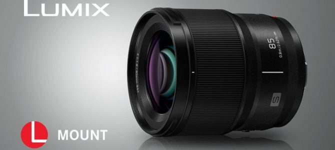 Panasonic introduces new compact, lightweight LUMIX S 85mm F1.8 lens for its full frame S Series cameras